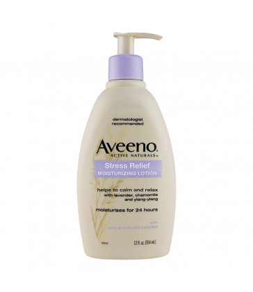 Aveeno Stress Relief Moisturising Lotion 345 ml