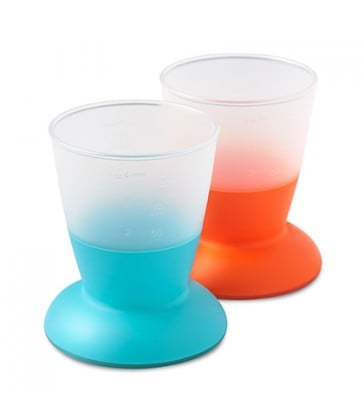 BabyBjorn Baby Cup Turquoise/Orange
