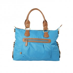 OiOi Limited Edition Tote- Turquoise (4005)