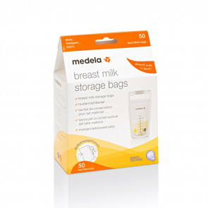 Medela Pump & Save Breastmilk Bags (50 pack)
