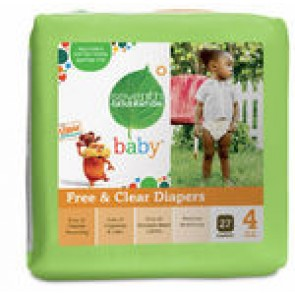 Seventh Generation Baby Diapers Stage 4 (10-16kg) 27pk x 4