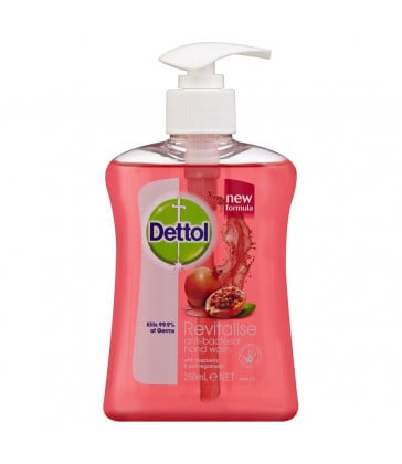 Dettol Liquid Hand Wash Revitalise 250 ml - Raspberry & Pomegranate