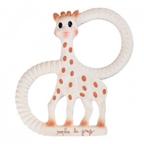So Pure Sophie the Giraffe Soft Teething Ring