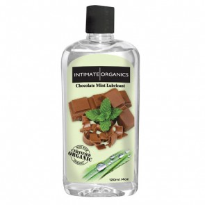 Intimate Organics- Chocolate Mint Lubricant 120mL