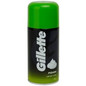 Gillette Shaving Foam Lemon & Lime 250g