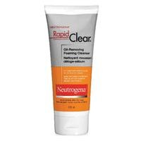 neutrogena rapid clear foaming cleanser 175ml. Black Bedroom Furniture Sets. Home Design Ideas