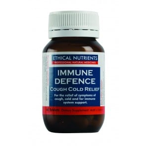 Ethical Nutrients Immune Defence Cough Cold Relief 60 Tablets