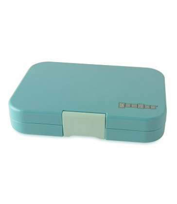 Yumbox Tapas 4 compartment Lunchbox - Antibes Blue (inc Flamingo Tray)