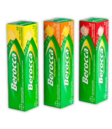 Berocca Performance Tropical 15 Effervescent Tablets