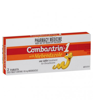 Combantrin 1 Tablets 2 Pack