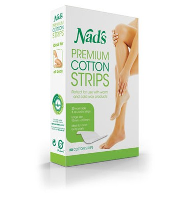 Nads Premium Cotton Strips 20 pack