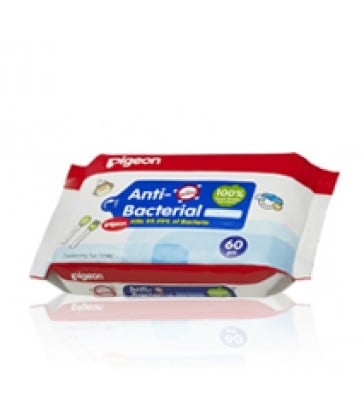 Pigeon Anti Bacterial Wipes 20's