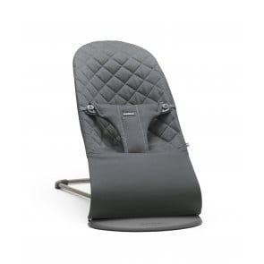 BabyBjorn Bouncer Bliss - Cotton - Anthracite