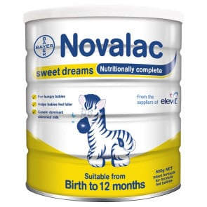 Novalac Sweet Dreams Infant Formula 800gm