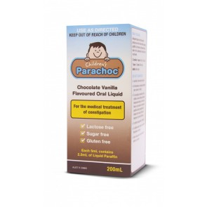 Childrens Parachoc 200 ml Liquid Paraffin