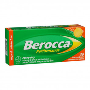 Berocca Performance Orange 30 Effervescent Tablets