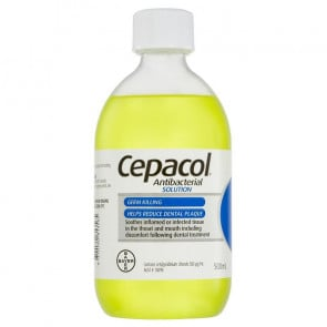 Cepacol Solution Regular 500 ml