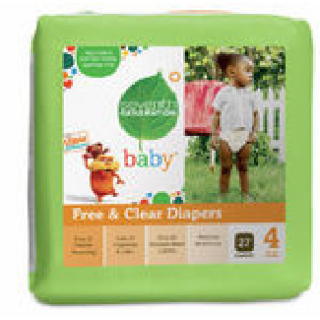 Seventh Generation Baby Diapers Stage 3 (7-12kg) 31pk x 4