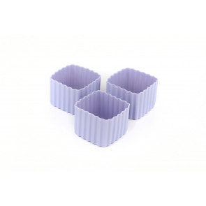 Little Lunch Box Co - Bento Cups Square - Purple (3 pack)