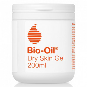 A new way to treat dry skin. Bio Oil's breakthrough new Dry Skin Gel replenishes the skin's barrier and deeply moisturises. The unique gel-to-oil texture absorbs easily and creates a protective film to resist moisture loss and restore dry skin to its opti