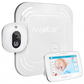 Angelcare AC417 Touchscreen, Movement & Sound Monitor with Wireless Pad