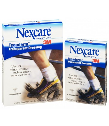 Nexcare Tegaderm Transparent 60mm x 70mm 8 Pack