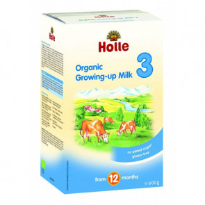 Holle Organic COW Infant Milk Formula Step 3 Toddler Formula (600g) - EXPIRY 20/10/2017