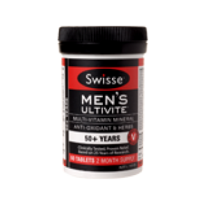 Swisse Mens 50+ 90 Tablets