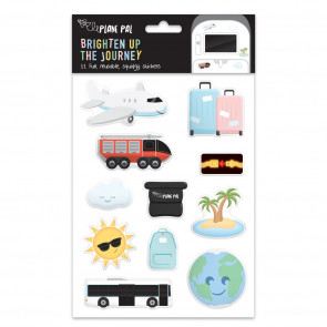 Plane Pal Reusable Squidgy Stickers