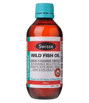Swisse UltiBoost Wild Fish Oil Liquid 200ml