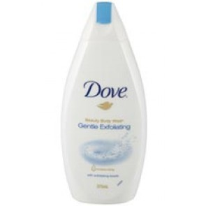 Dove Gentle Exfoliating Body Wash 375mL