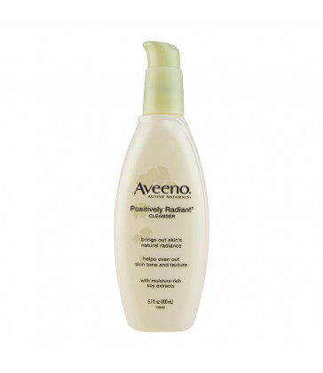 Aveeno Positively Radiant Cleanser 200 ml