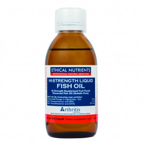 Ethical Nutrients Hi-Strength Liquid Fish Oil 170ml Fruit Punch