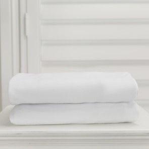 L'il Fraser Single Fitted Sheet - White