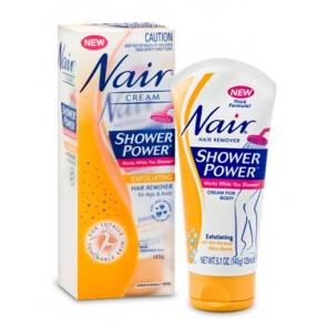 Nair Shower Power Exfoliating Hair Remover Cream