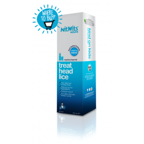 NitWits Head Lice Foam Kit 220mL
