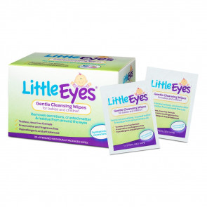 Little Eyes Gentle Cleansing Wipes 30 Pack