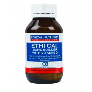 Ethical Nutrients Ethi Cal Bone Builder with Vitamin D 60 Tablets
