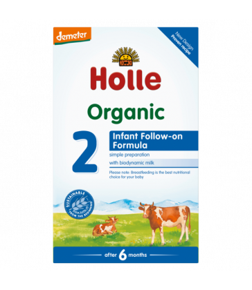 Holle Organic COW Infant Milk Formula Step 2 (600g)