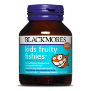 Blackmores Kids Fruity Fishies (30 cap)