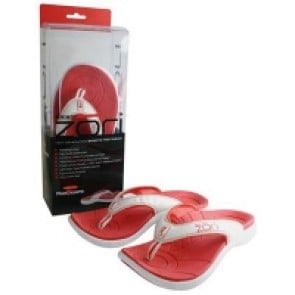 Neat Feat ZORI Orthotic Thongs RED size 8