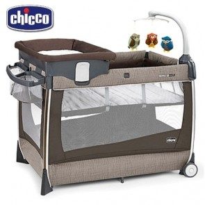 Chicco Lullaby Magic Portable Cot Rattania