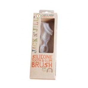 Jack N' Jill Silicone Tooth & Gum Brush Stage 3 (2-5 years)
