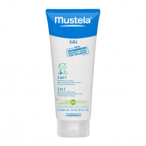 Mustela Bebe 2-in-1 Hair & Body Wash 200mL