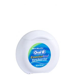 Oral-B Essential Floss Waxed Mint 50 Meters