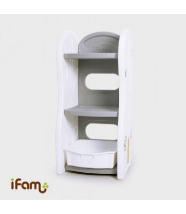 iFam Design Toy Organizer - Shelf - Grey