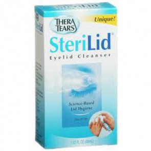Sterilid Eyelid Cleanser 48ml
