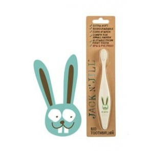 Jack N' Jill Bio Toothbrush Compostable & Biodegradable Handle BUNNY