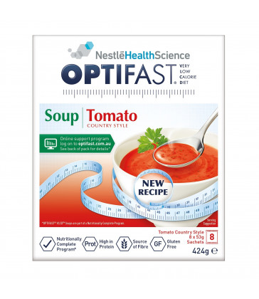 Optifast VLCD Tomato Soup 53g 8 Pack
