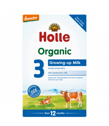 Holle Organic COW Infant Milk Formula Step 3 Toddler Formula (600g)